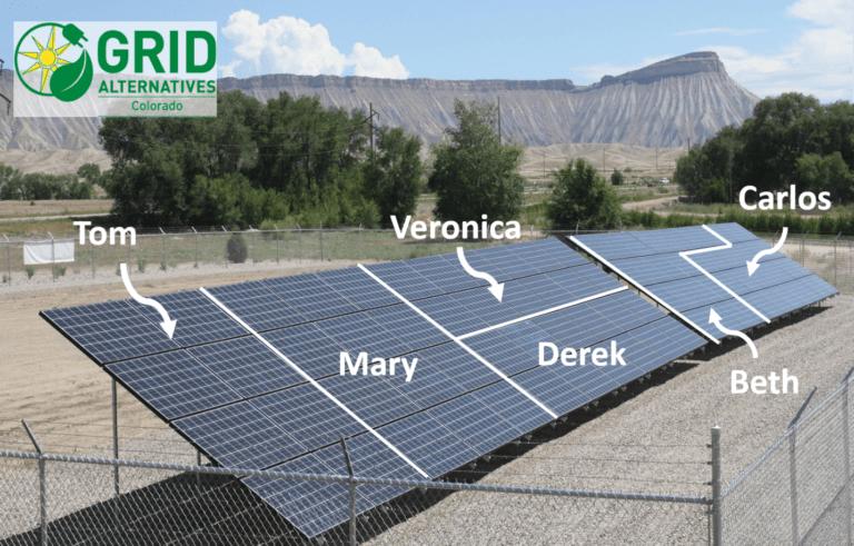 Grid Alternatives Community Solar Graphic