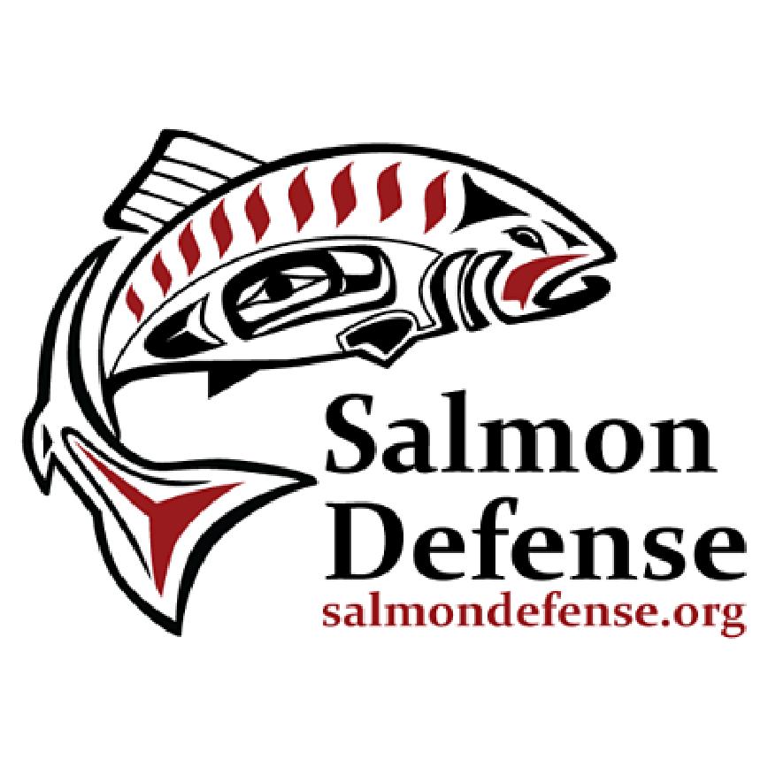 Salmon Defense logo